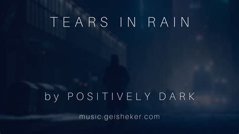 """New Song """"Tears in Rain"""" a tribute to Vangelis and Blade"""